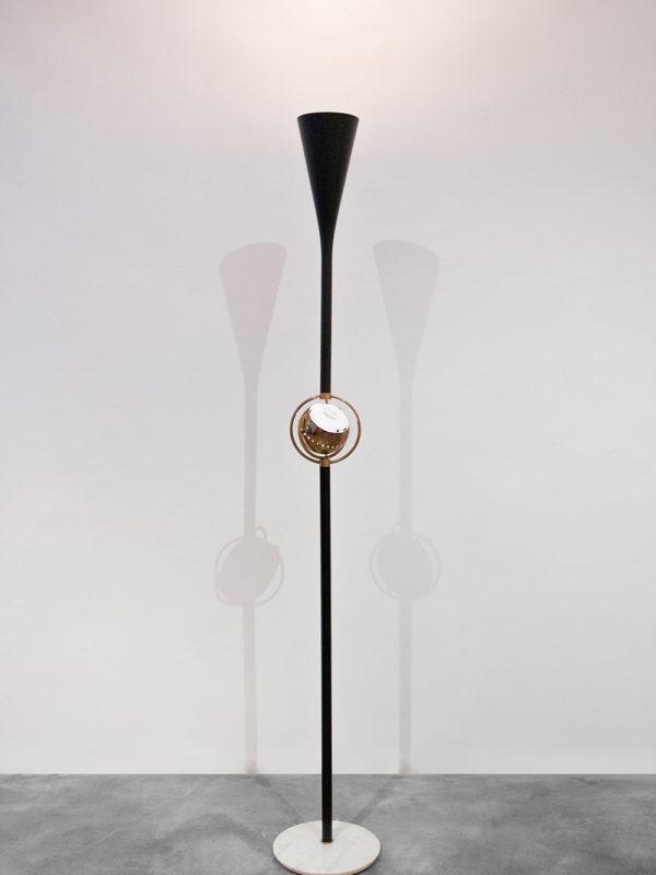 Angelo Lelli - Floor Lamp, at Giustini/Stagetti Galleria O. Roma