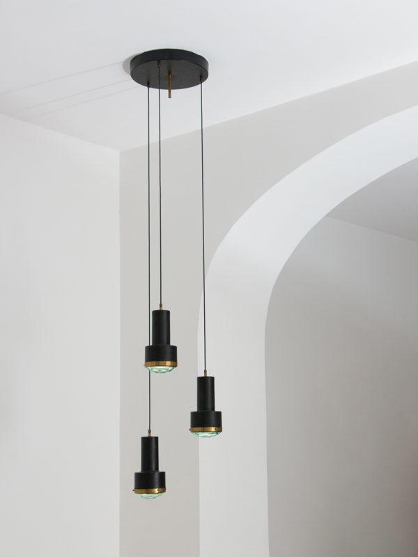 Stilnovo - Ceiling Lamp, at Giustini/Stagetti Galleria O. Roma